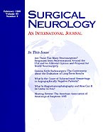 Surgical Neurology International 2014 Jun 11