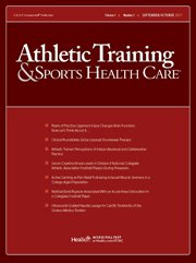 Athletic Training & Sports Health Care. 2017;9(4):177-183