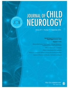 J Child Neurol 2017;32(1)