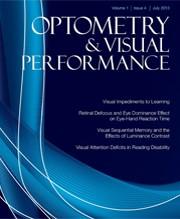 Optom and Vis Perf 2016;4(3)