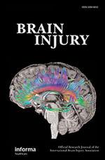 Brain Injury. Published online: 02 Feb 2021. DOI: 10.1080/02699052.2021.1878554