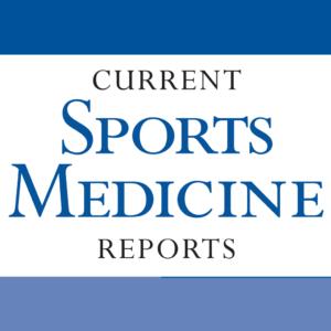 Current Sports Medicine Reports. 18(1):23-34. 2019