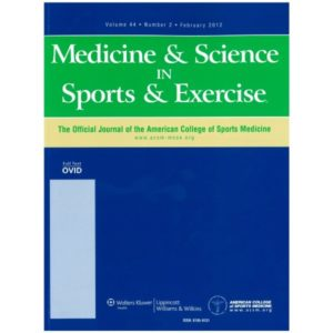 Medicine & Science in Sports & Exercise. 2019 Jan 14.