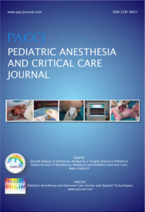Pediatric Anesthesia and Critical Care Journal. 2019;7(1):31-36