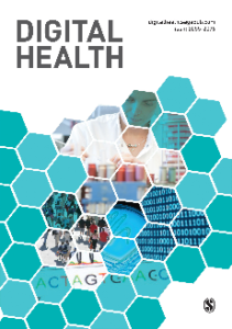 Digital Health Journal. 2019; Vol 5.