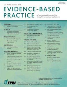 Evidence-Based Practice. 21(6):E13-E14, June 2018.