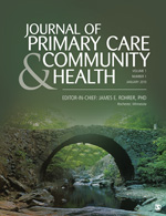 Journal of Primary Care & Community Health. 2019;10:1-7