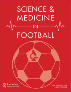 Science and Medicine in Football. Published online November 15, 2020. doi: 10.1080/24733938.2020.1846769