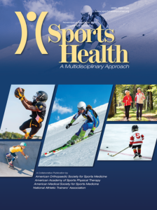 Sports Health: A Multidisciplinary Approach. Volume: 12 issue: 4, page(s): 401-404 Published online: January 21, 2020. DOI: 10.1177/1941738119888656